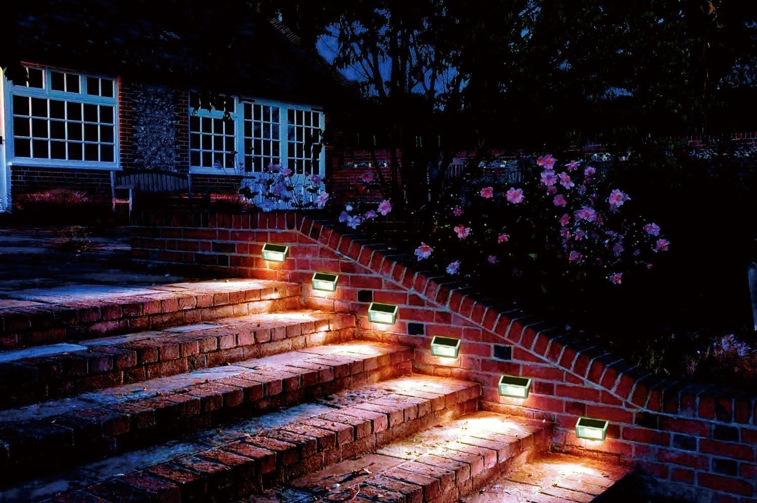 Led Deck Stair Lights Perfect Mr Beams Wireless Step