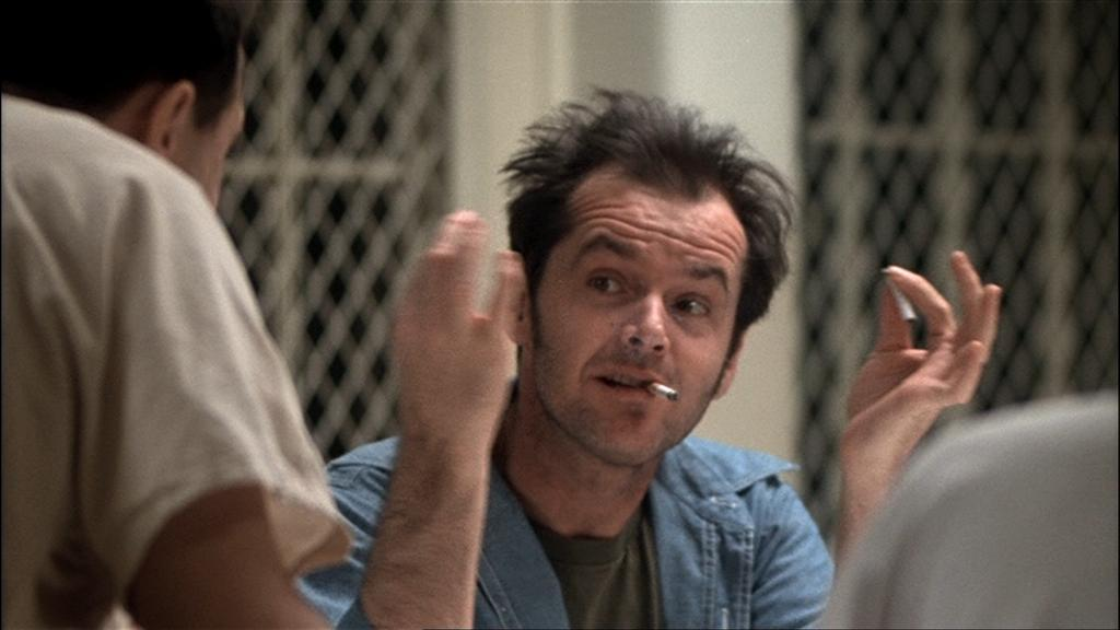 imagery in one flew over the One flew over the cuckoo's nest review by caas c - love nicholson but the imagery did not do the book justice where is the fog and the machines and wires.