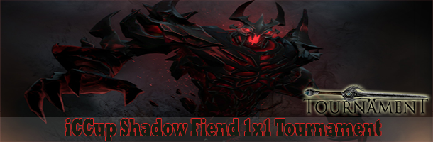 iCCup Shadow Fiend 1x1 Tournament png