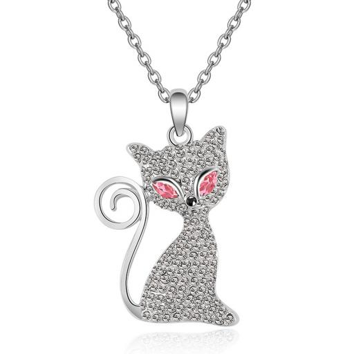 Cat Necklace Red jpg