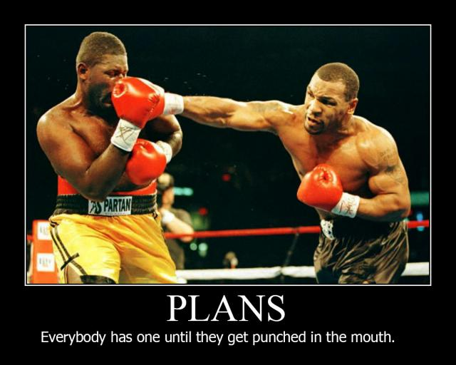 mike tyson everyone has a plan until they get punched in the mouth motivational poster jpg