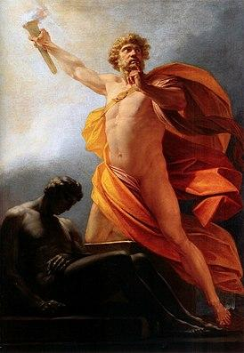 274px Heinrich fueger 1817 prometheus brings fire to mankind jpg