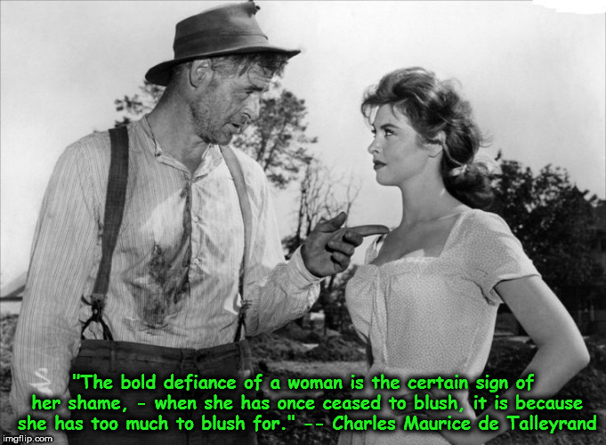 bold defiance too much to blush for robert ryan tina louise talleyrand jpg