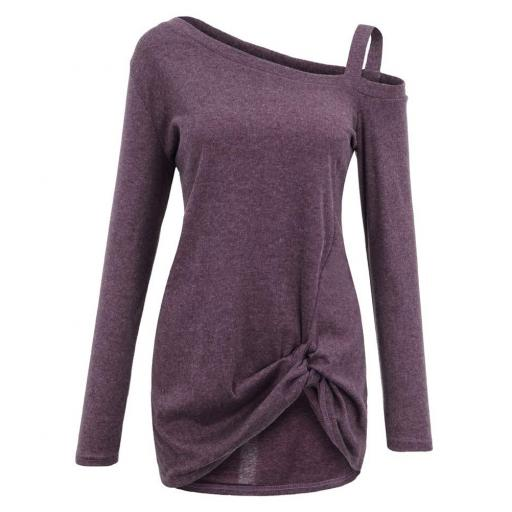 Long Sleeve T Shirt Purple 5 jpg