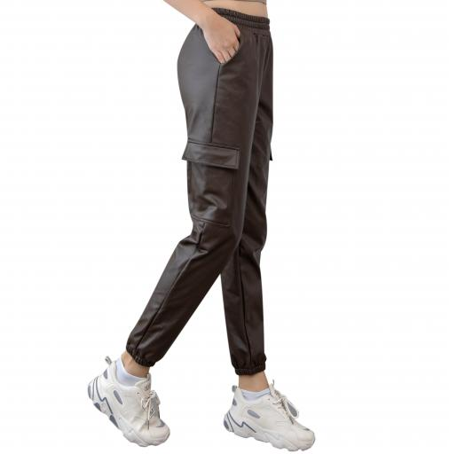 leather joggers for women jpg