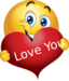 clipart love you boy smiley emoticon 64x64 664d png