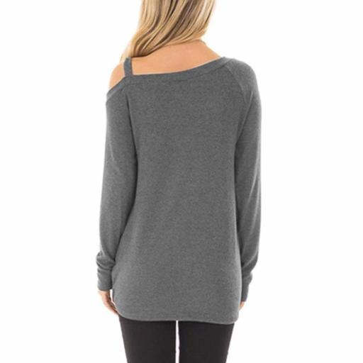 Long Sleeve T Shirt Light Gray 2 jpg