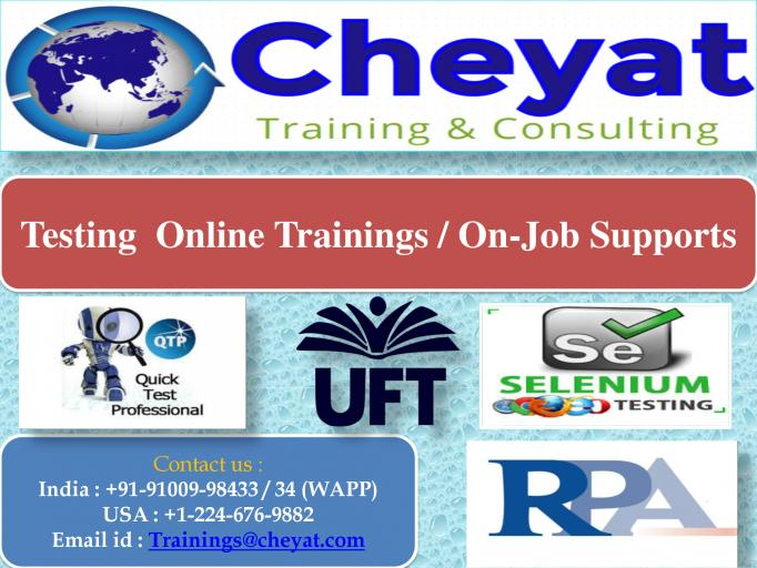UFT Online Training jpg