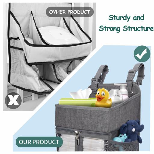 Hanging Diaper Caddy Organizer5 jpg