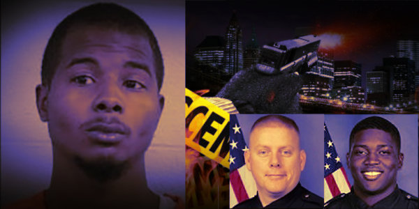 Update: Gunman identified and charged in shooting of two Louisville police officers…