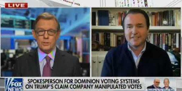 Dominion Voting Systems Spokesman Responds To Fraud Claims…