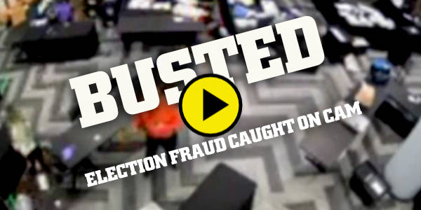 🚨🚨🚨 BUSTED: Ballots hidden under a table being counted AFTER poll watchers were told that counting had stopped…