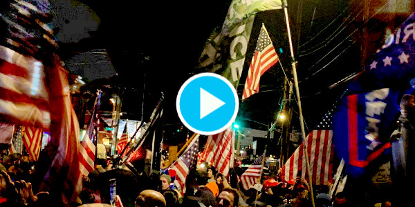 Patriots gather at Mac's Public House in Staten Island, New York, prepared to take freedom back from the communists…