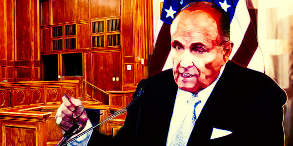 Giuliani To Rep Trump In PA Election Case. He will take the floor at 1:30 EST…