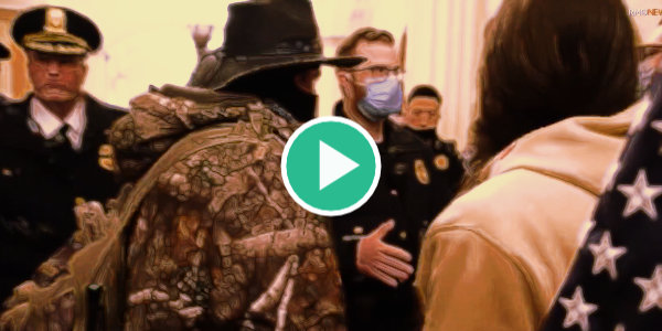 """New video from January 6th destroys the """"insurrection"""" hoax – Capitol Police allowed protesters to enter…"""